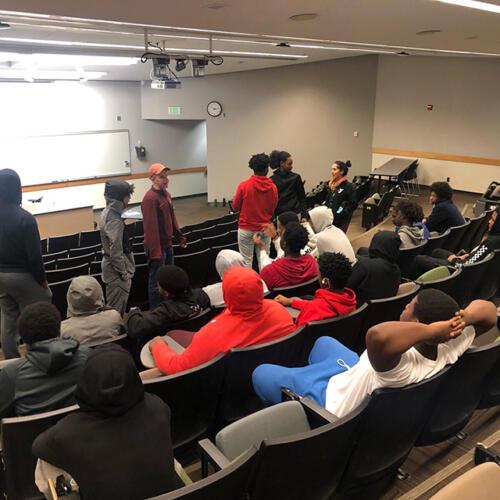 College tour U of M